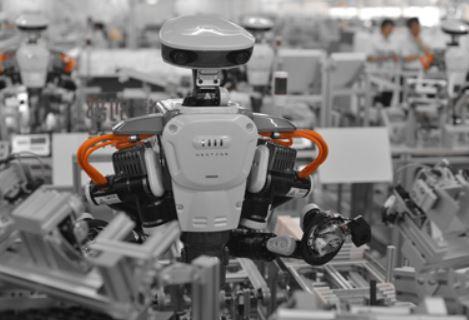 Nextage, el robot con forma de humano japonés