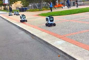 Conoces a Kiwibot, el robot repartidor de Kiwi