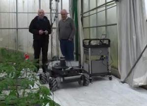El robot Green Patrol creado para incrementar las cosechas
