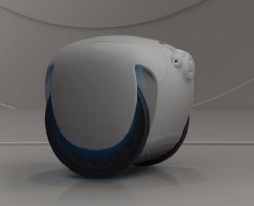 El nuevo vehículo de Piaggio es un robot